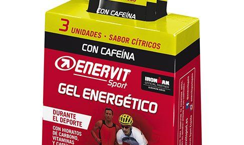 Gel Enervit energético con cafeina