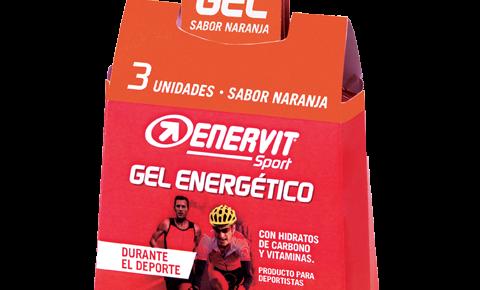 Gel energético sabor naranja para deportistas - Enervit Sport