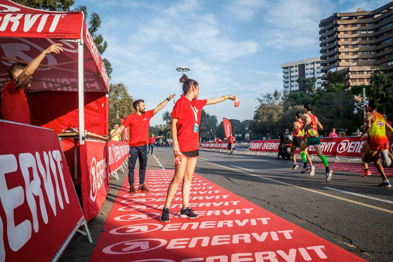 Paula González Berodia en la Maratón de Valencia 2016 - Enervit Sport