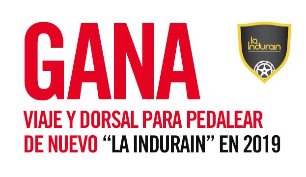 Gana dorsales con Enervit para La Indurain 2019. ¡Participa!