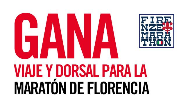 Gana dorsales con Enervit para la maratón de Florencia. ¡Participa!